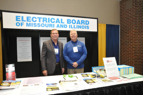 ebmi booth with kuempel and keeney