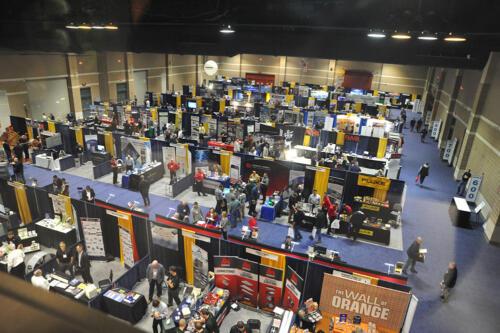 view of exhibit hall 3